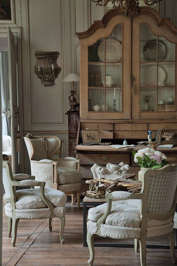 French country country french pinterest grillon - Maison provinciale rustique campagne svetti ...