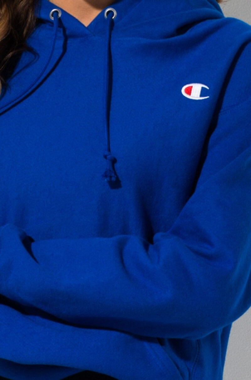 Detail View Champion Reverse Weave Pullover Hoodie With Chest C Logo In Surf The Web Pullover Sweatshirt Hoodie Pullover Hoodie Champion Reverse Weave [ 1209 x 800 Pixel ]