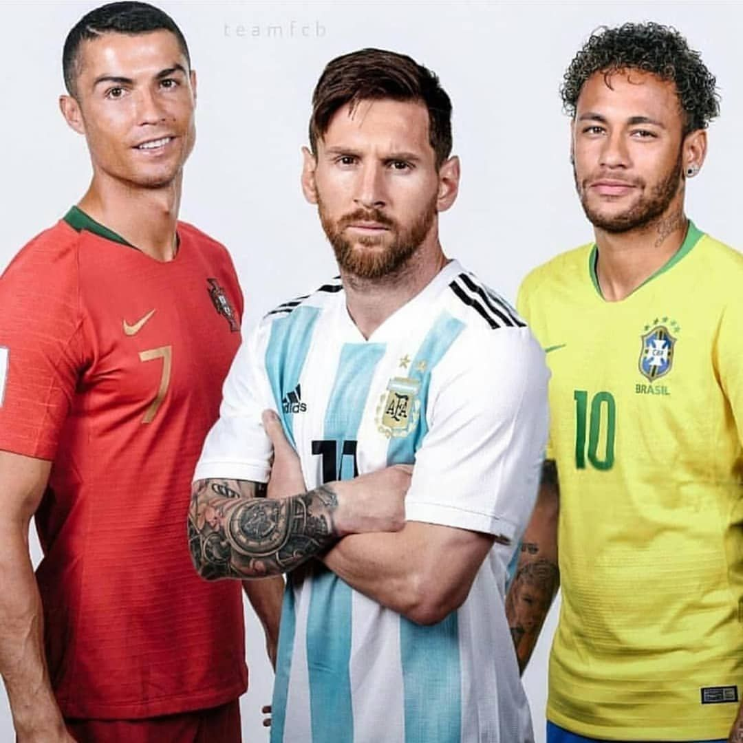 626f58088 Who is your favorite? @cristiano @leomessi @neymarjr . . Tag a ...