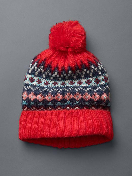 The Southern C | House of Harper - Fair Isle Pom-Pom Hat ...