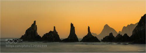 Perfils II by juanjobasurto  agua amanecer asturias coast costa cudillero gueirua landscape larga exposicion long exposure mar pa