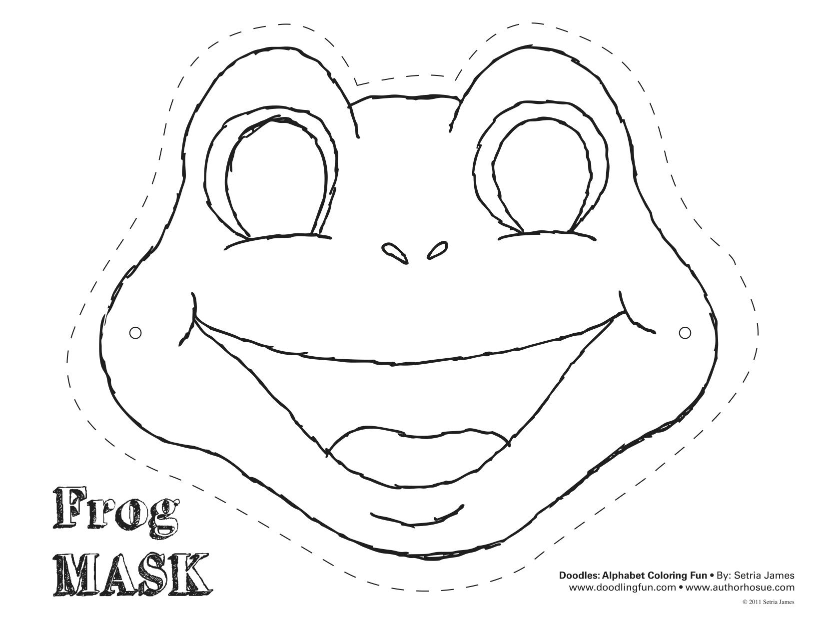 Frog cut out template frog mask colouring pages diykids frog cut out template frog mask colouring pages pronofoot35fo Choice Image