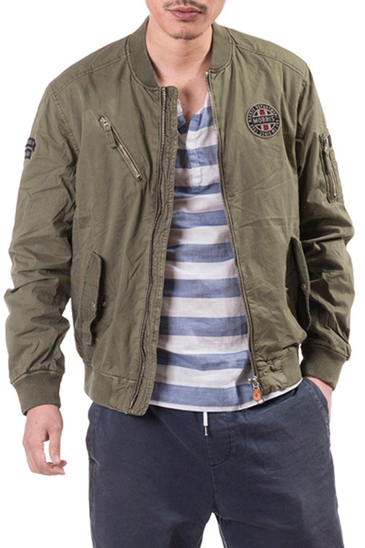 Men Spring Casual Lightweight Baseball Varsity Cotton Jacket Khaki Cb12h2u4jrh Mens Fashion Casual Spring Mens Outerwear Jacket Mens Fashion Casual Winter [ 1500 x 1000 Pixel ]