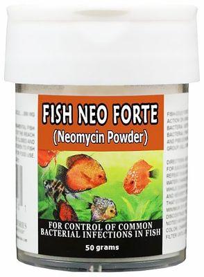 Thomas Labs Fish Neo Forte Neomycin Powder 50 Grams Betta Fish