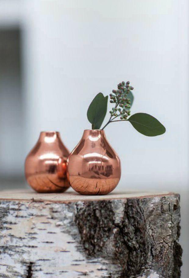Trend Report Copper Blush Copper Decor Home Goods Decor Copper Vase