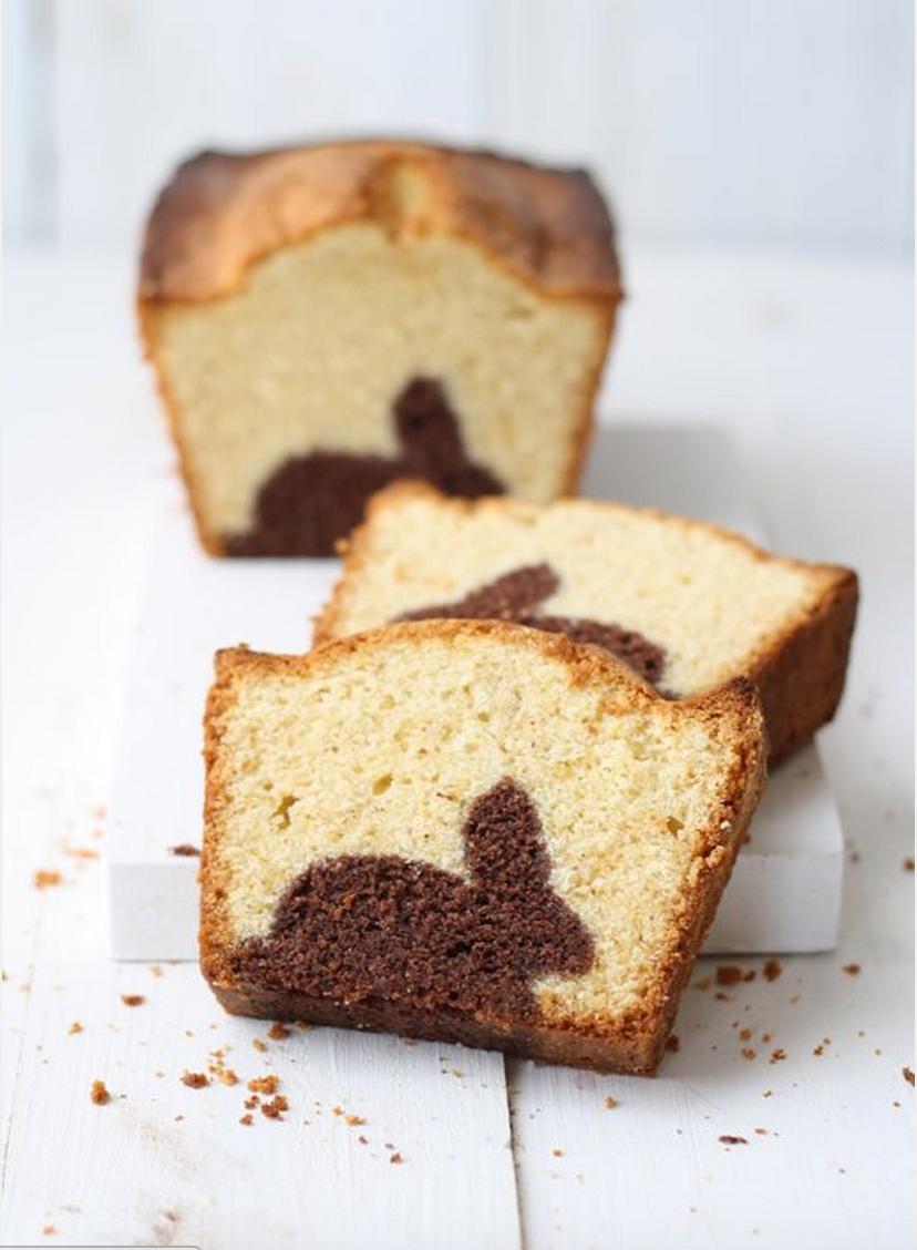 Comment envoyer du lourd avec une simple pâte à gâteau marbré ?