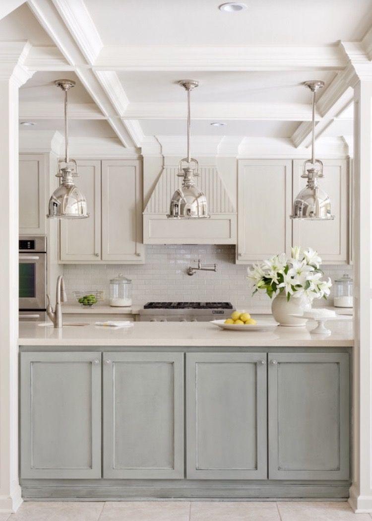 Coordinar gabinete de la cocina piso de madera de color - Luminarias Colores Gabinetes Pendants Cabinet Colors