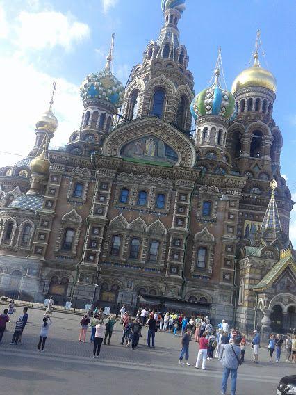 Iglesia de la Sangre del Salvador, San Petersburgo