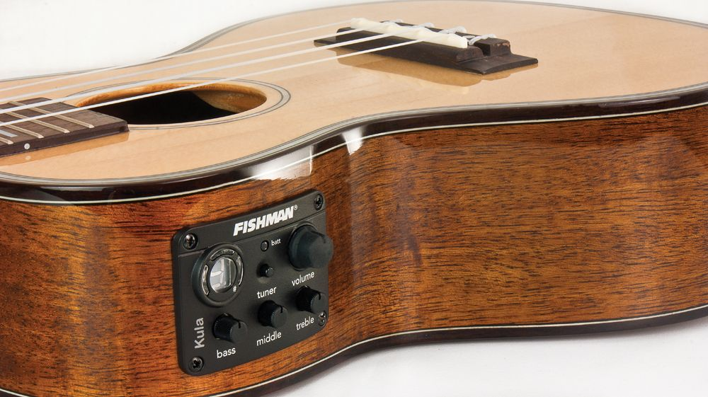 The Fishman Kula Ukulele Onboard Pre Amp And Digital Tuner Is Ukulele Ray S System Of Choice Used In 100 S Of Live Shows And Record Digital Tuner Ukulele Tuner