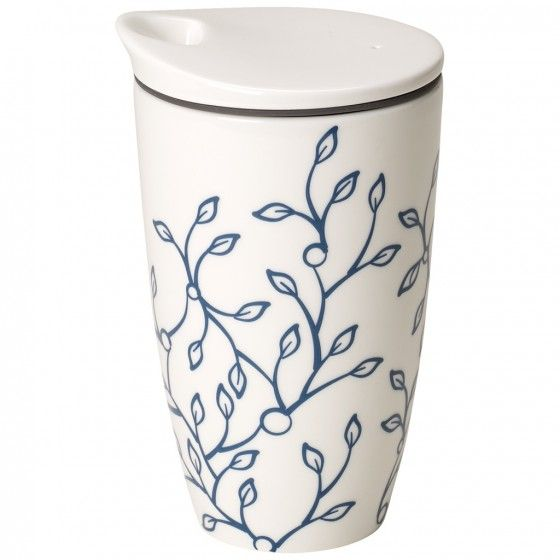 Caffè Club Floral Cornflower Coffee To Go Mug Villeroy Boch