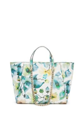 GUESS | Nikki Florals Chain Tote Bag | Bags in 2019