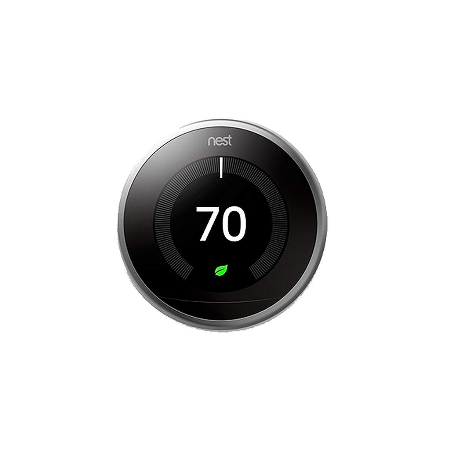 Nest Learning Thermostat, Easy Temperature Control for