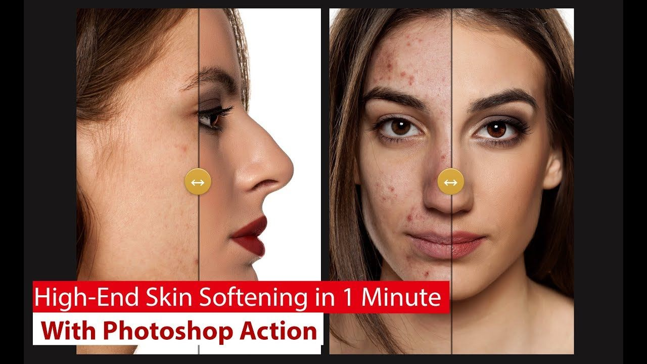 Highend smooth skin retouch how to make smooth skin