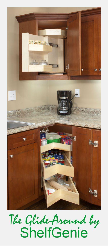 Upper Cabinet Lower Cabinet No Matter We Have A Glide Around Cornercabinetsolution To Kitchen Furniture Storage Corner Kitchen Cabinet Diy Kitchen Storage