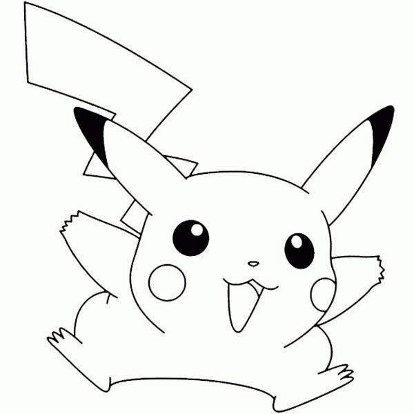 pokemon pikachu coloring pages 8 - Coloring Pages Pokemon Pikachu