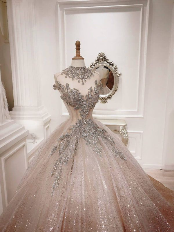 7 Mẫu váy cưới sang trọng, quý phái nhìn thôi đã m