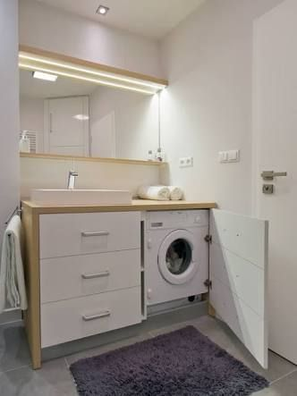Image Result For Bathroom With Hide Washing Machine Under Bench Accessible Bathroom Design