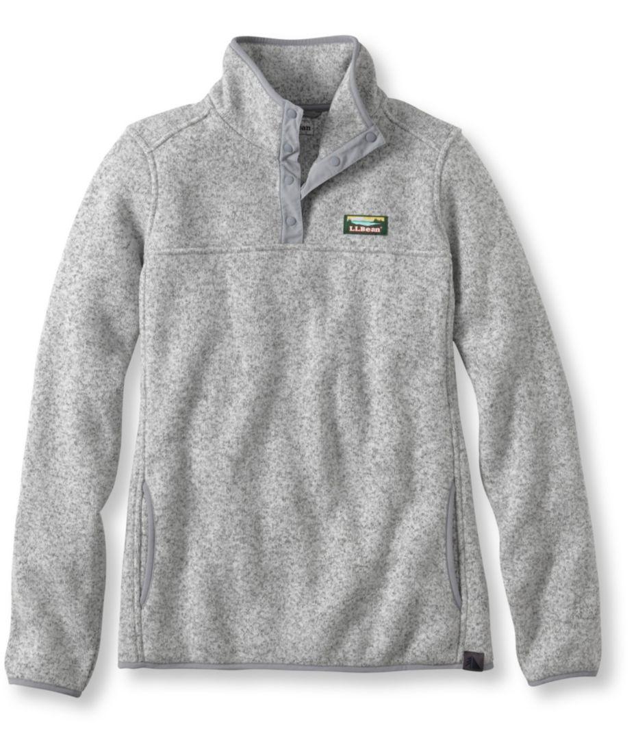 Size medium llbean sweater fleece pullover gift ideas for me