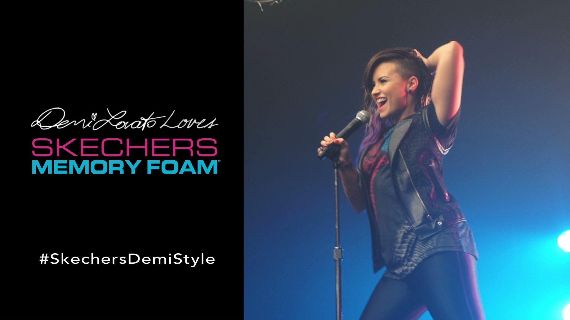 Skechers Memory Foam Demi Lovato