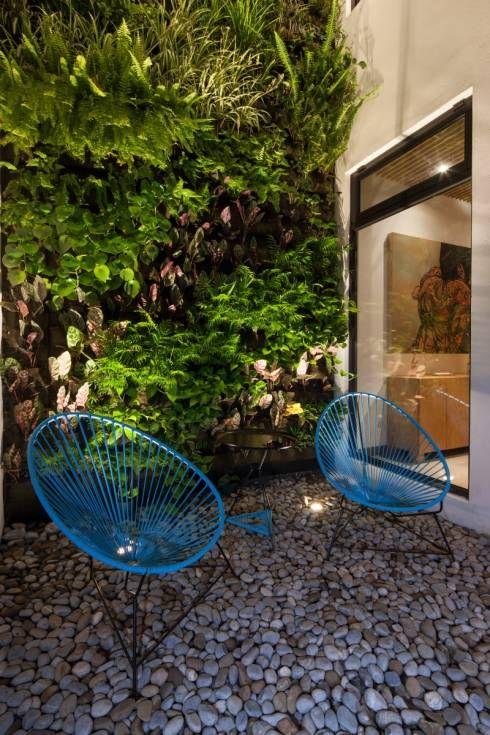Jardines Pequenos 10 Ideas Geniales Y Economicas Homify Homify Jardines Modernos Taller De Arquitectura Jardines Verticales
