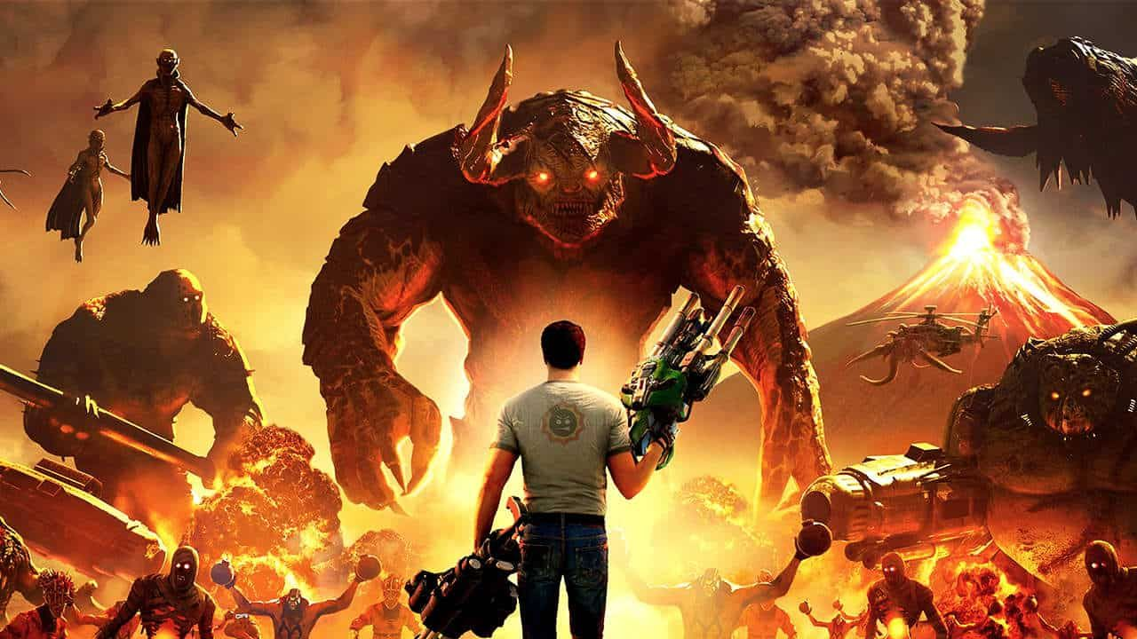 Serious Sam 4 Review The Classic Shooter Video Game Series Returns Serious Sam Shooter Video Game Capture The Flag