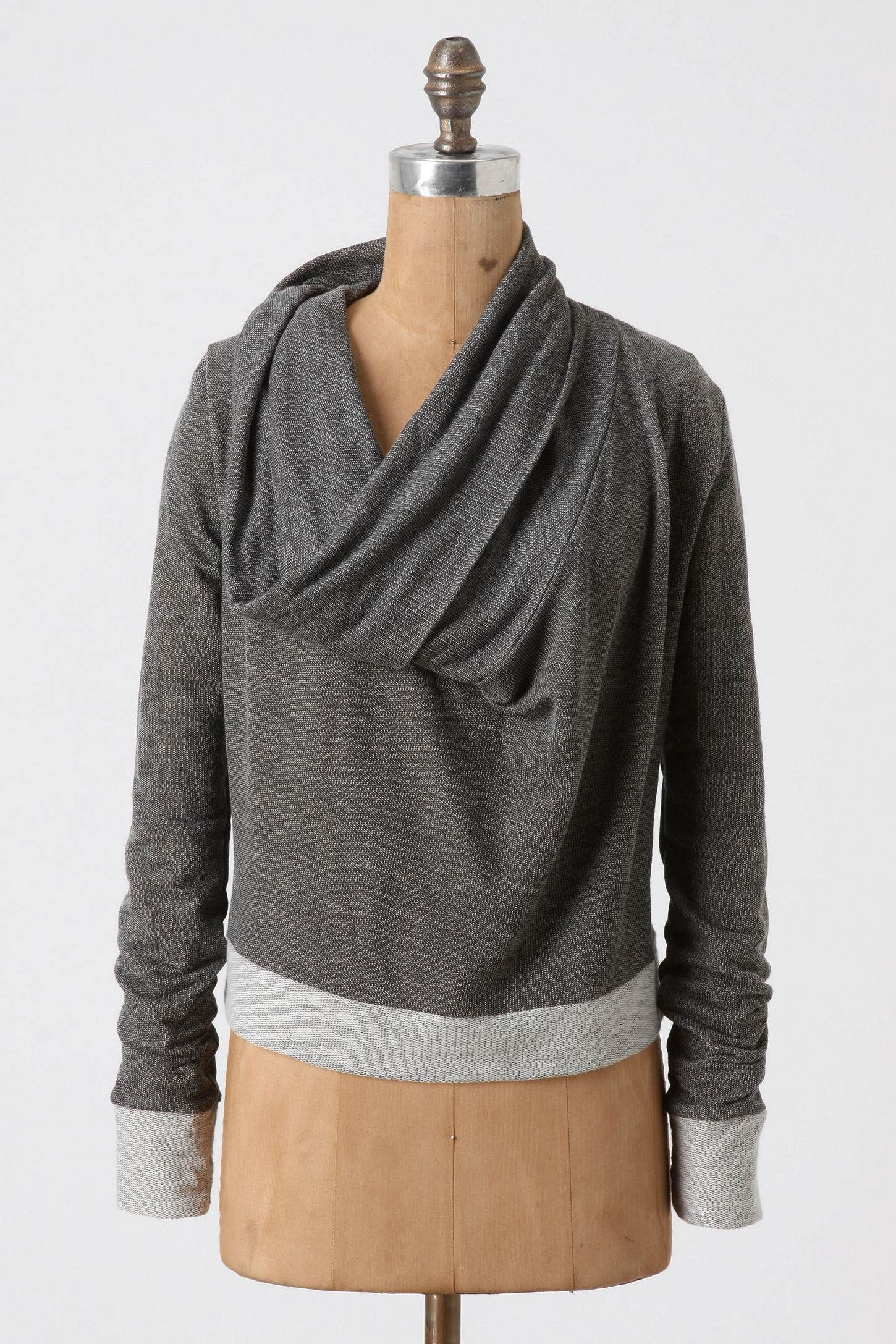 Forest Frolic Pullover $58, Anthropologie I love the oversized cowl neck