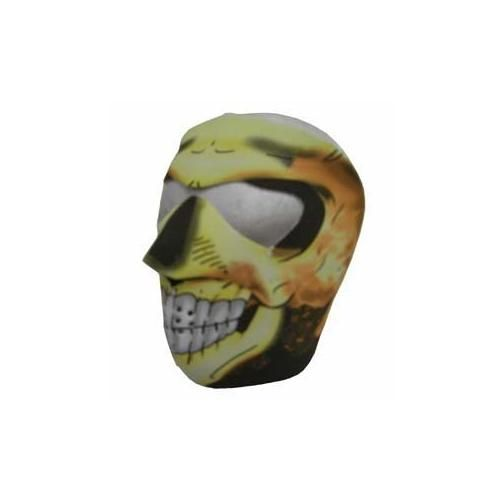 #Halloween Buy Now New Flaming Skull Neoprene Winter Full Face Mask W Nose Mouth Vents for  Halloween Gifts Idea Promotion .  At #Halloween time, complete thing . a fun and distinctive costume. No one wants to experience a uninteresting or lame costume. Many people are fed up with wizards, ghosts, and Scream killers. Disco...