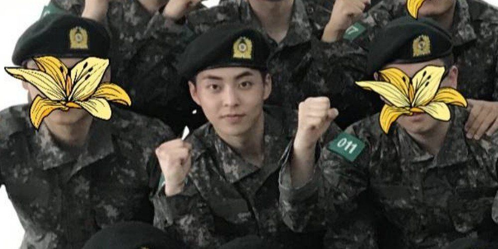Photos Of Exo S Xiumin In The Military Revealed Military Exo Xiumin Military Service