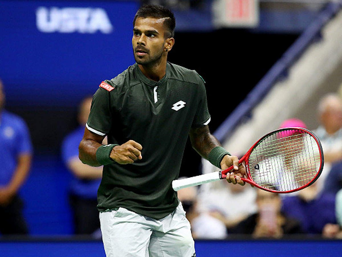Sumit Nagal Storms Into Second Round Of Us Open In 2020 Tennis Tennis News Tennis Legends
