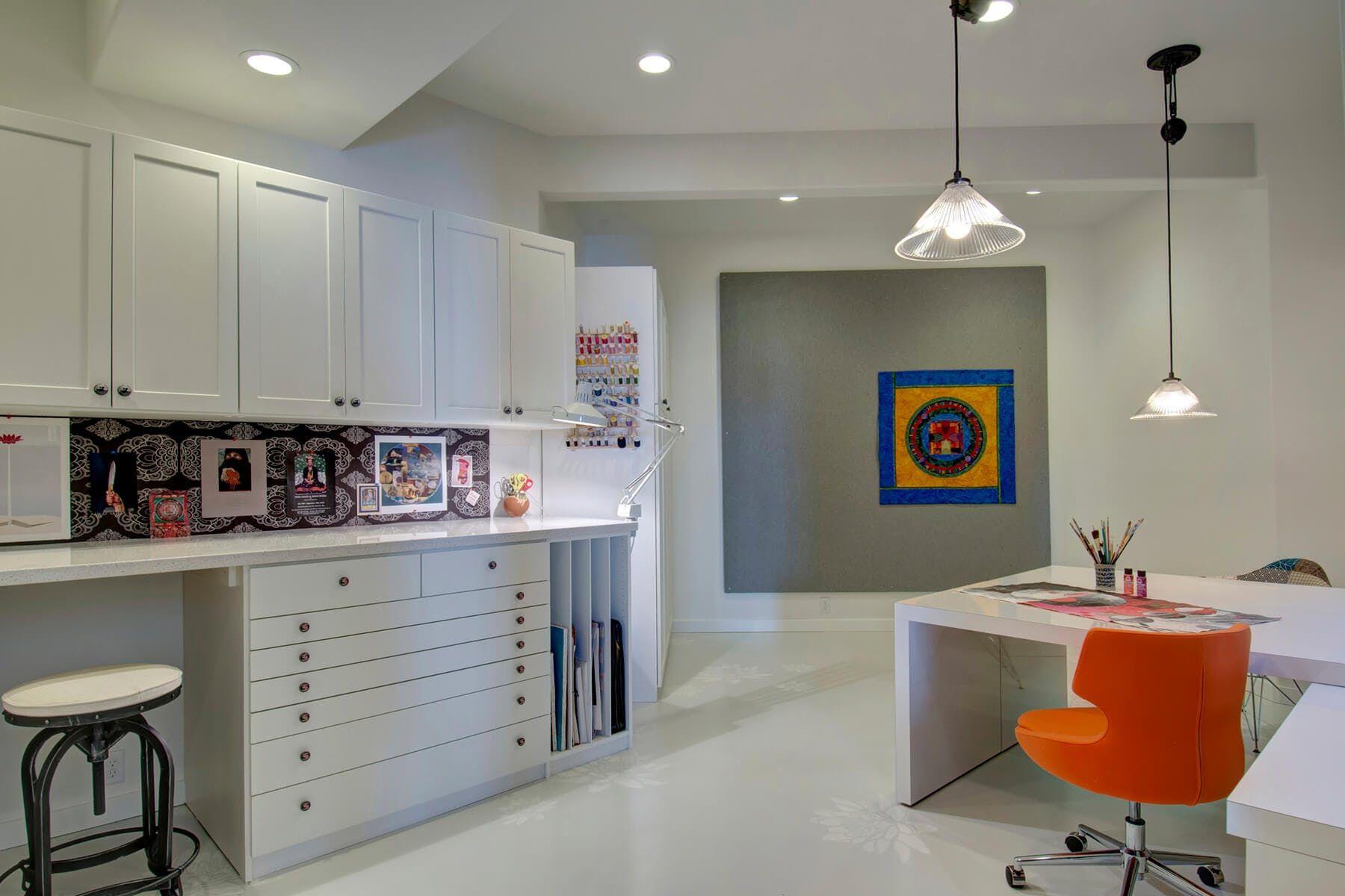 Craft Desk Organization Small Spaces