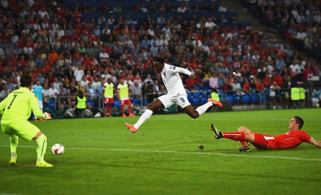 The Sun Football On Football Soccer Field England Goals