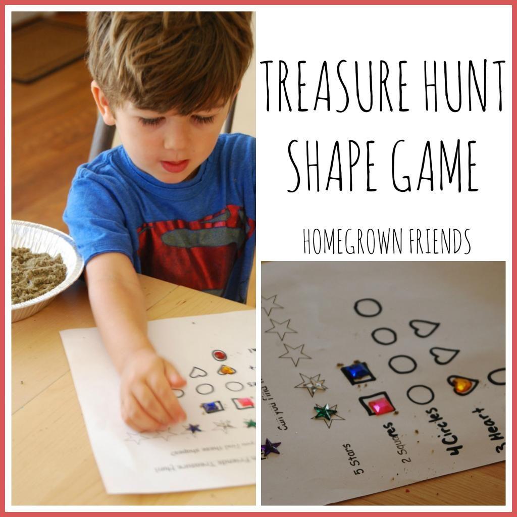 Treasure Hunt Shape Game