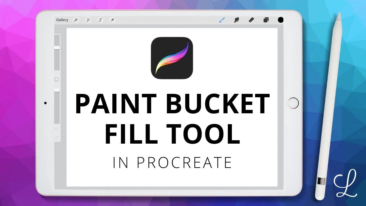 How To Use Paint Bucket Fill In Procreate Procreate Ipad Procreate Tutorial Procreate App