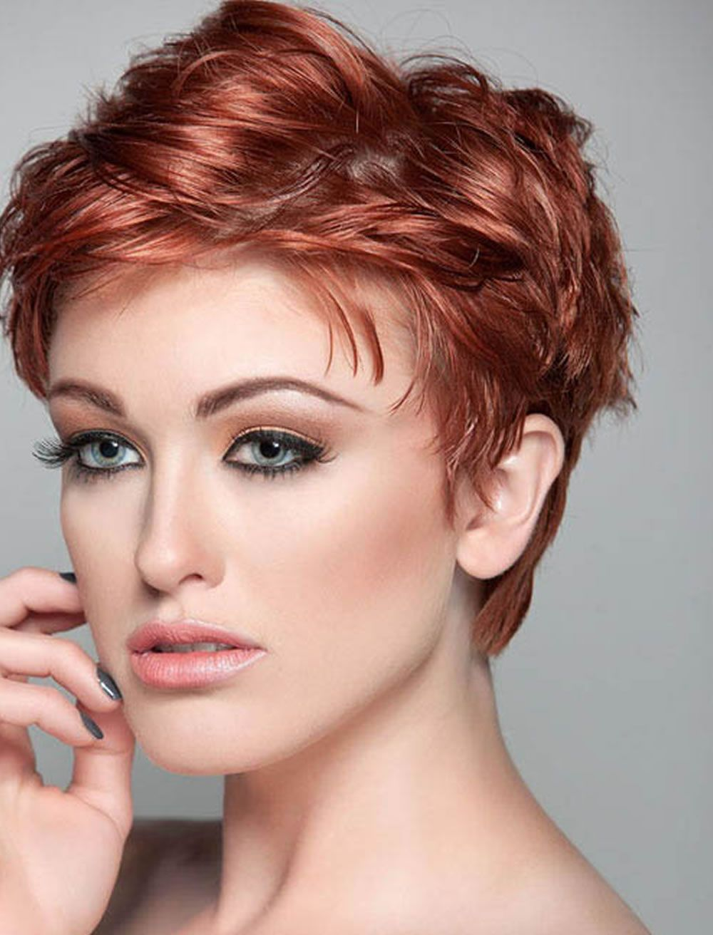 33++ Short hairstyles for thick hair and oval face inspirations