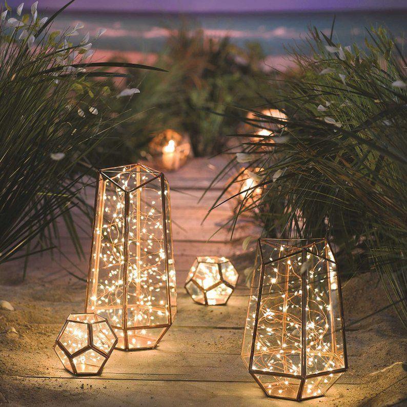 Waterproof, 100 Fairy Lights: Home Decor, Weddings, Dorm Room, Christmas, Garden decor, House Warming Gift, Centerpiece Lights