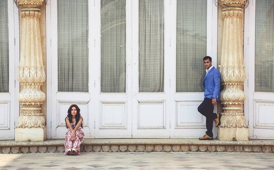 Arjun and Apurva's pre wedding shoot at Alwar Bagh Resorts, Alwar