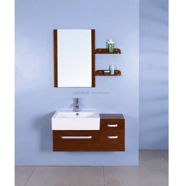 Hangzhou Mgawe Sanitary Ware Co Ltd Provide The Reliable Quality 24 Bathroom Vanity And 24 Bathroom Vanity And S Modern Solid Wood Bathroom Cabinet In 2019