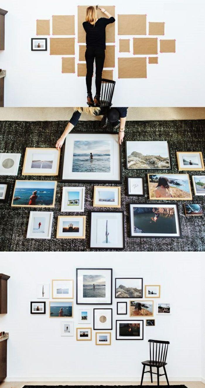 fotowand selber machen ideen fr eine kreative wandgestaltung - Fantastisch Fotowand Gestalten