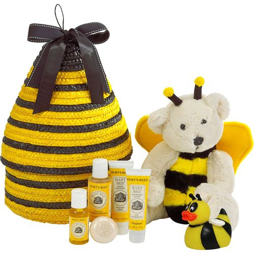 Burt S Bees Spa Escape Gift Box Basket 1 Set Baby Bath