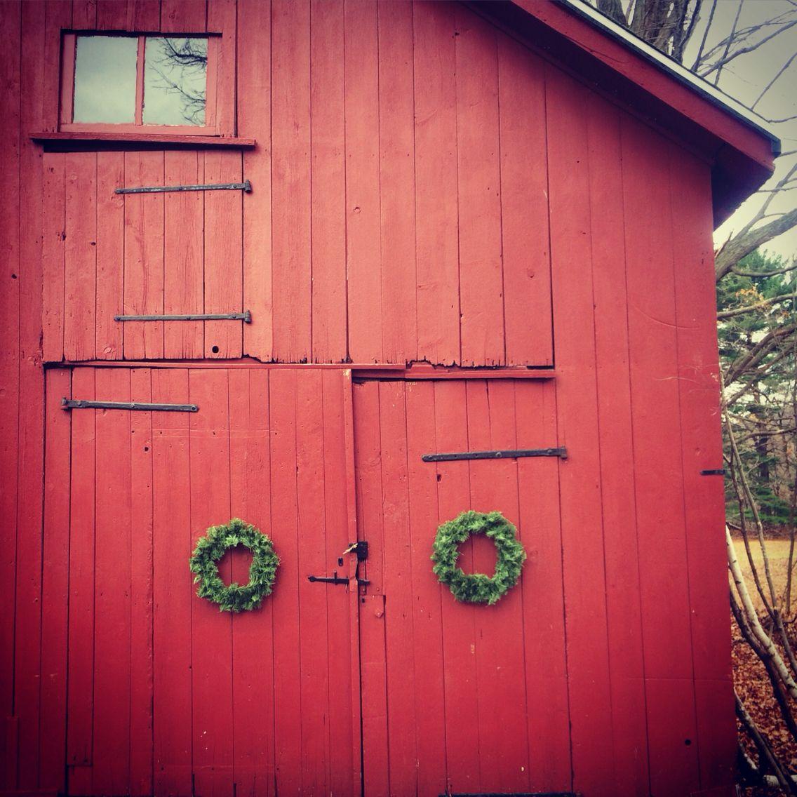 #christmas #barn