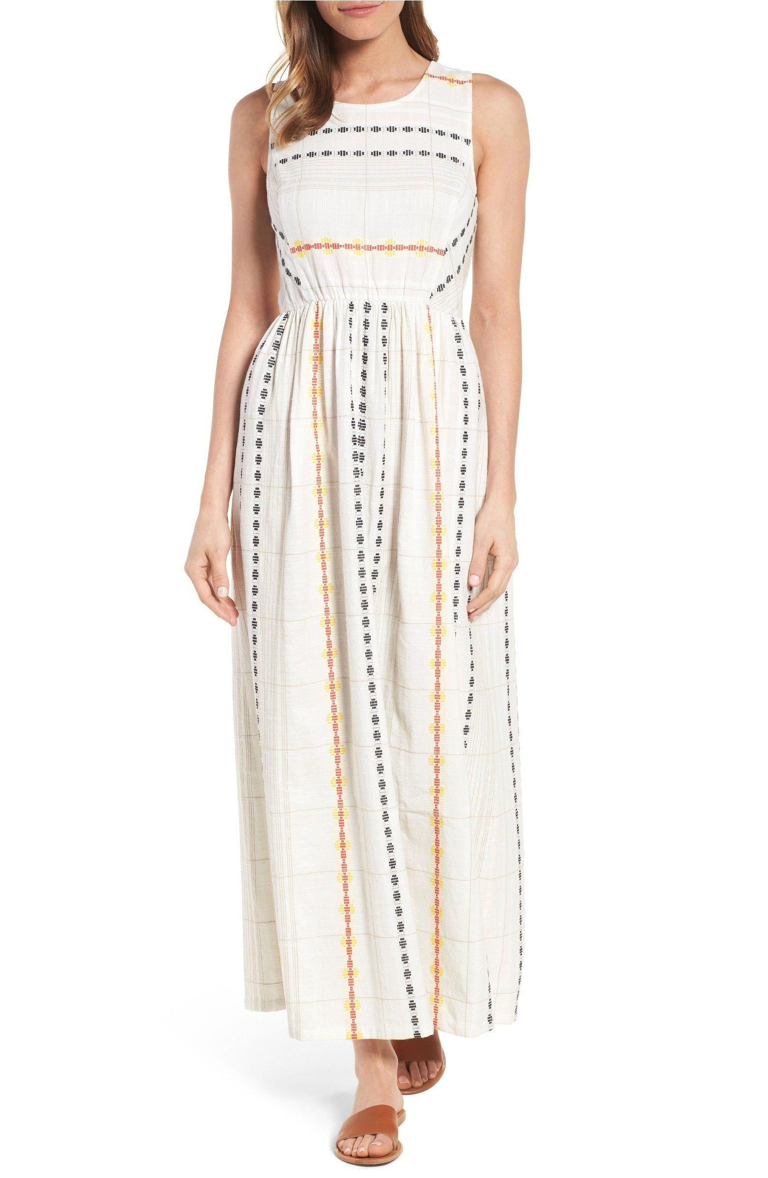 d6678cc8330 Main Image - Caslon® Cotton Maxi Dress (Regular   Petite)