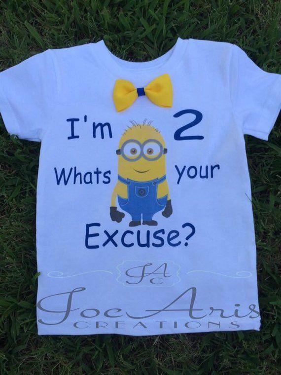 ab8ca1091 Minion Birthday Shirt, Minion Shirt, Birthday Boy, Minion Birthday, Minion  Birthday Top.