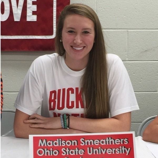 Bailey Smeathers Sign On To Become Buckeyes Women Volleyball Volleyball News Ohio State