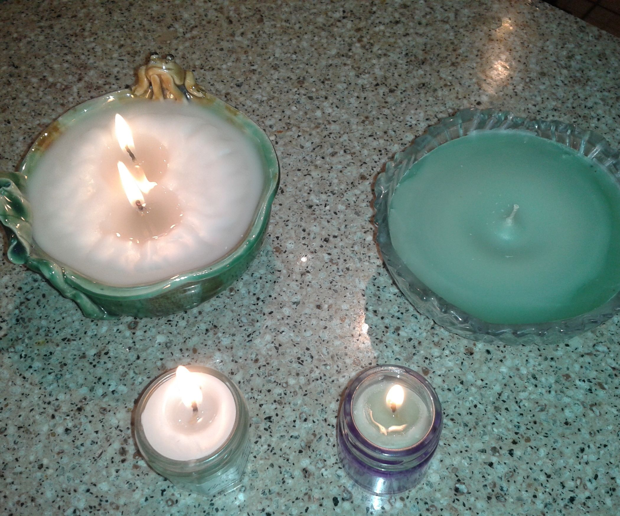Easy Candles W/ Pop Tab Wicks Easy candles, Diy candle