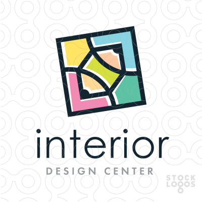 Exclusive Customizable Logo For Sale Interior Design StockLogos
