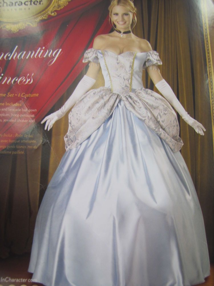 884bc12f1 eBay #Sponsored ADULTS WOMENS CINDERELLA ENCHANTING PRINCESS Incharacter  COSTUME XL