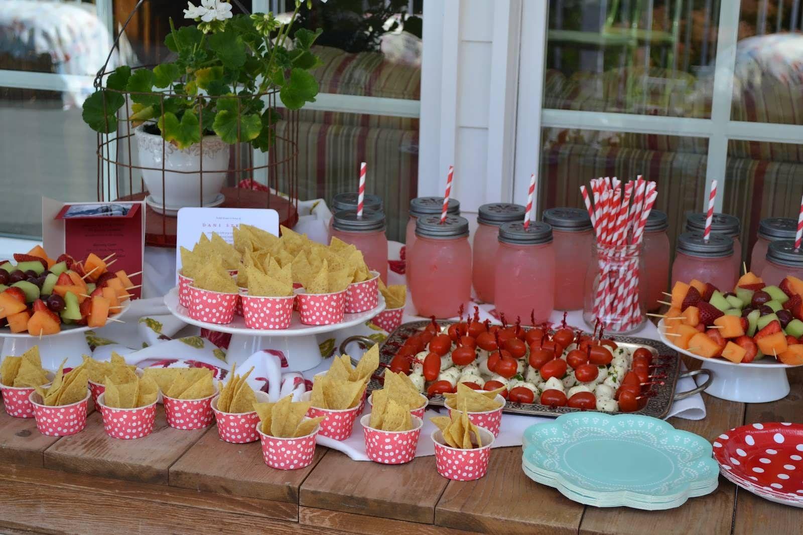 Pinterest Bridal Shower: Bridal Shower Luncheon Food Ideas