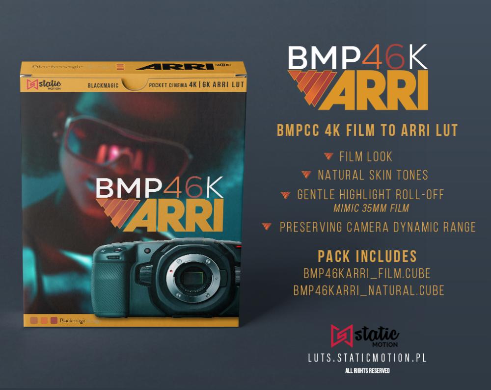 BMPCC 4K / 6K FILM TO ARRI LOOK / BRAW LUTs - FilterGrade