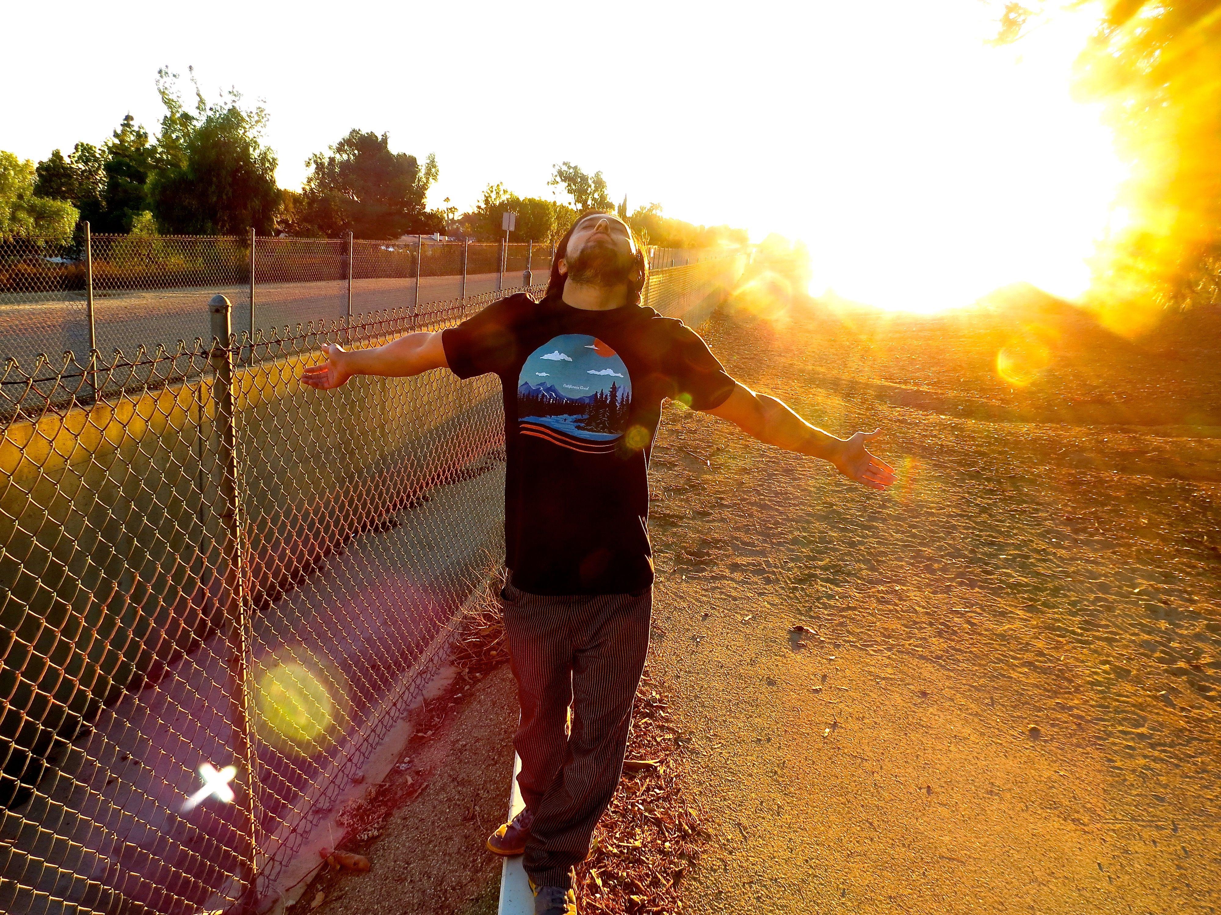 When the Sun Hits  #summer #californiagood #park #environment #organic #green #fashion #mensfashion