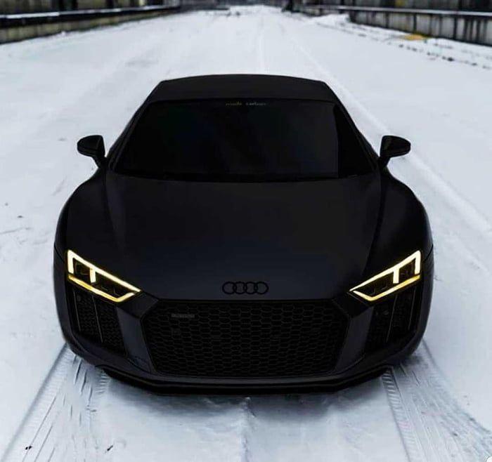 Audi R8 Black Matte Edition In 2020 Luxury Cars Audi Black Audi Audi R8 Black